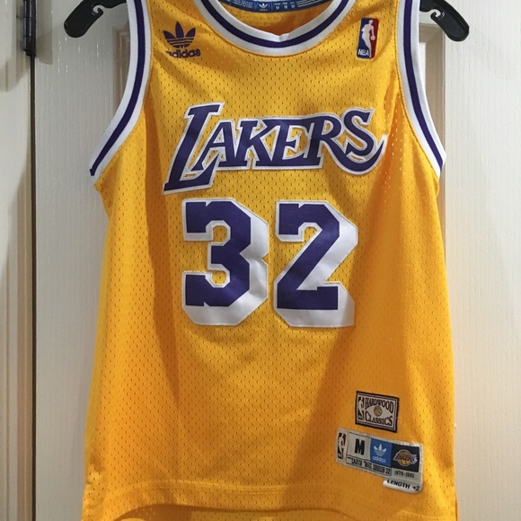 another chance 09f20 48208 Michael Jordan Lakers Classic Jersey -Youth Medium